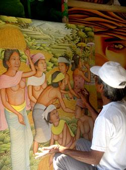 History of Bali Painting